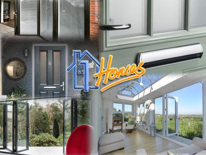Energy efficient doors from 1st Homes LTD in Colchester., Bi-folding doors, french doors, patio doors, uPVC doors, Composite doors and Solid core doors