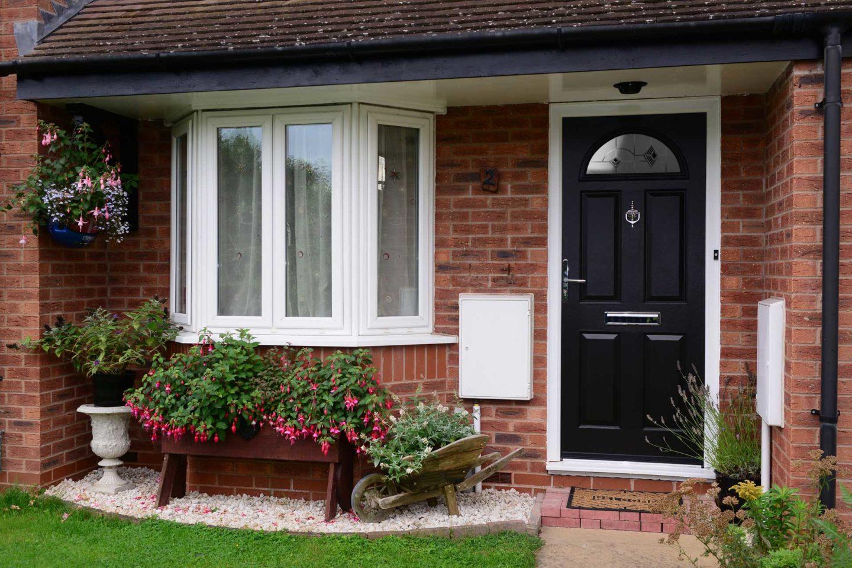 Black Composite Front Doors Essex