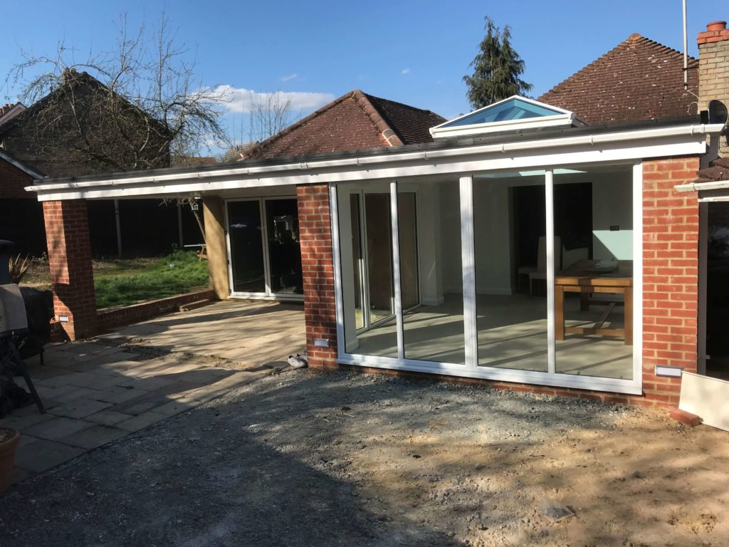 ORANGERY WITH CANOPY EXTENSION 2 essex